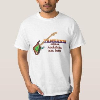 Rockstars are born in Tanzania T-Shirt