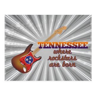 Rockstars are born in Tennessee Postcard
