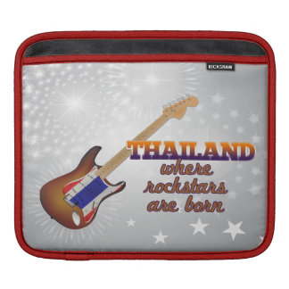 Rockstars are born in Thailand Sleeve For iPads