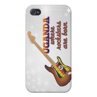Rockstars are born in Uganda Covers For iPhone 4