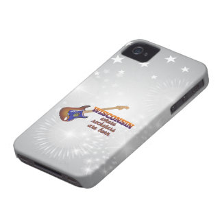 Rockstars are born in Wisconsin iPhone 4 Case