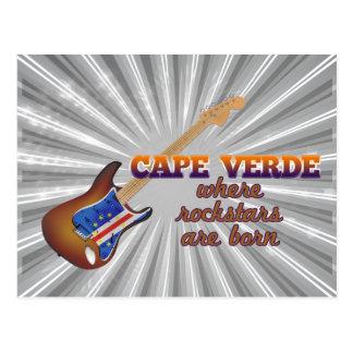 Rockstars nace en Cabo Verde Tarjetas Postales