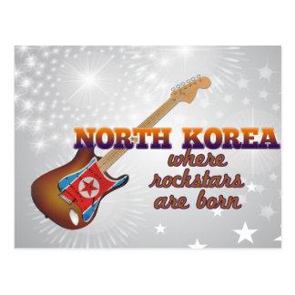 Rockstars nace en Corea del Norte Tarjeta Postal