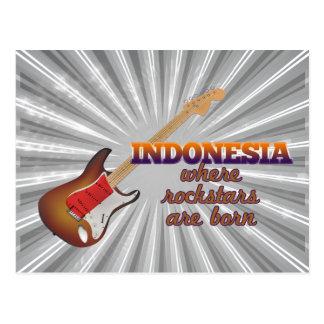Rockstars nace en Indonesia Tarjetas Postales