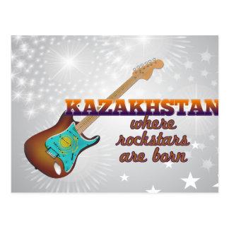Rockstars nace en Kazajistán Tarjetas Postales