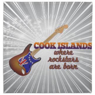 Rockstars nace en las islas de cocinero servilleta de papel
