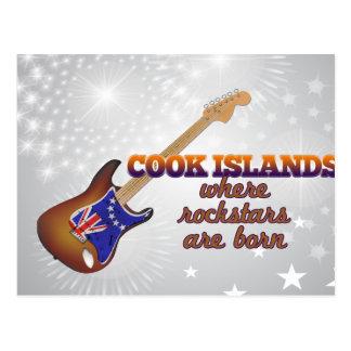 Rockstars nace en las islas de cocinero tarjetas postales