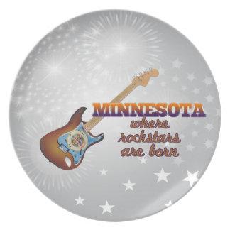 Rockstars nace en Minnesota Plato Para Fiesta