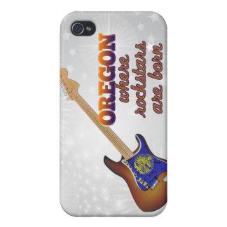 Rockstars nace en Oregon iPhone 4 Cárcasas