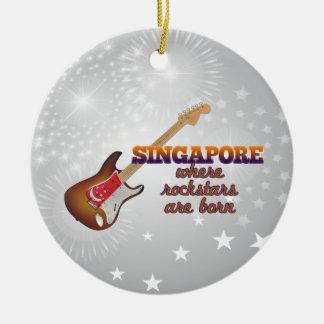 Rockstars nace en Singapur Ornamentos De Reyes Magos