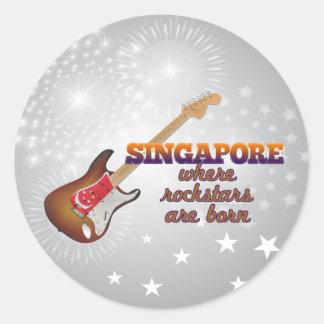 Rockstars nace en Singapur Etiqueta