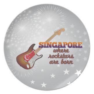 Rockstars nace en Singapur Plato De Comida