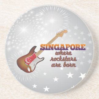 Rockstars nace en Singapur Posavasos Manualidades