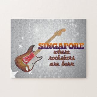 Rockstars nace en Singapur Rompecabezas
