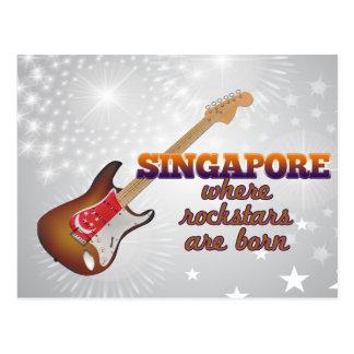 Rockstars nace en Singapur Tarjetas Postales