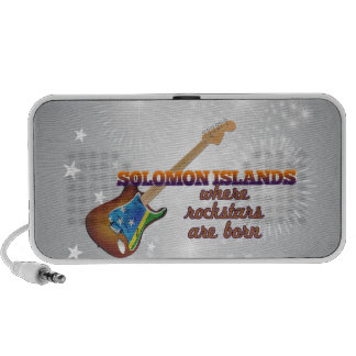 Rockstars nace en Solomon Island Laptop Altavoces