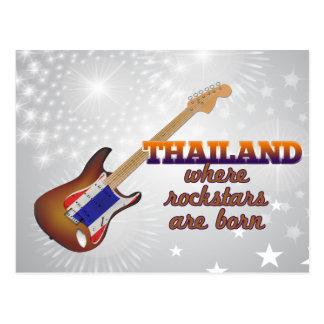 Rockstars nace en Tailandia Postal