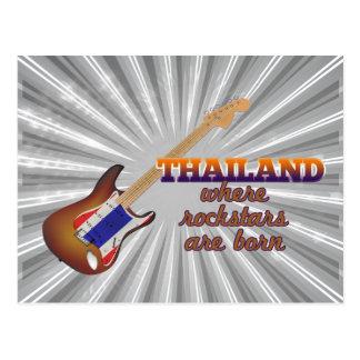 Rockstars nace en Tailandia Tarjetas Postales
