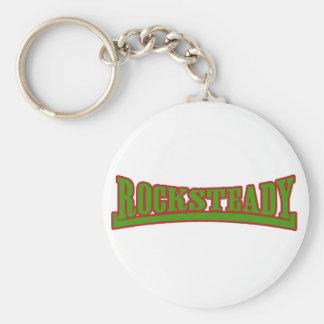Rocksteady Green Keychain