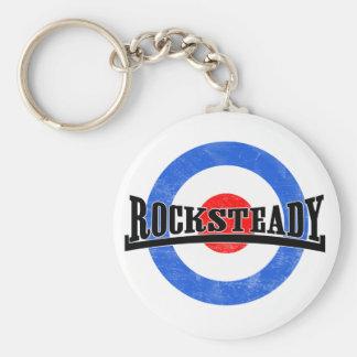 Rocksteady Mod Keychain