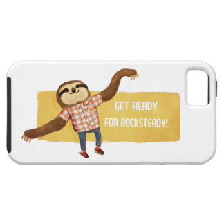 Rocksteady Sloth iPhone 5 Cases