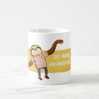 Rocksteady Sloth Coffee Mug