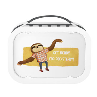 Rocksteady Sloth Lunchboxes