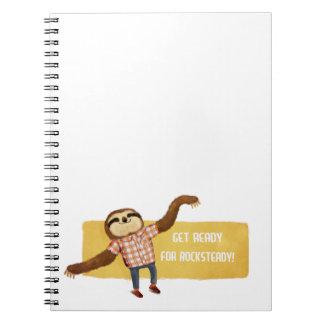 Rocksteady Sloth Notebooks