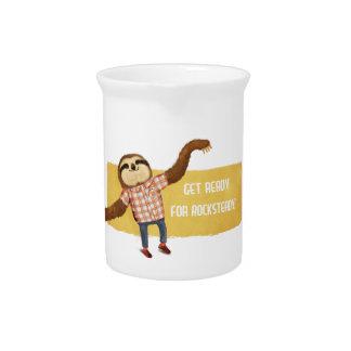 Rocksteady Sloth Beverage Pitcher