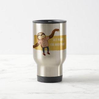 Rocksteady Sloth Travel Mug
