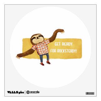 Rocksteady Sloth Wall Skins