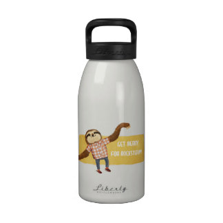 Rocksteady Sloth Reusable Water Bottles