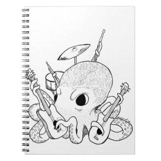 Rocktopus Cuaderno