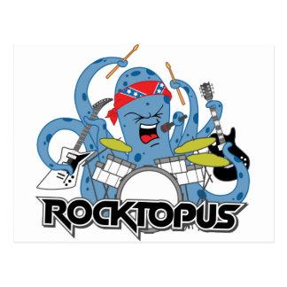 Rocktopus Postcard