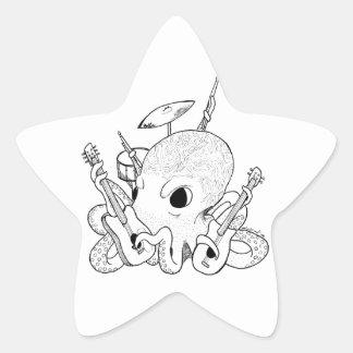 Rocktopus Star Sticker