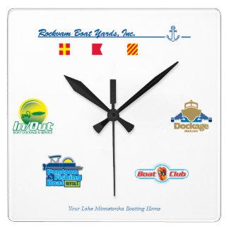 Rockvam Boat Yards, Inc. Clock