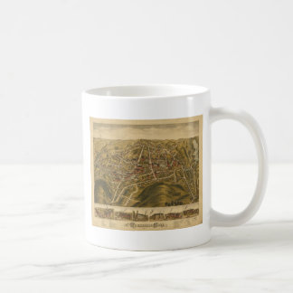 Rockville Connecticut in 1877 Coffee Mug