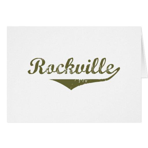 Rockville  Revolution t shirts Greeting Card