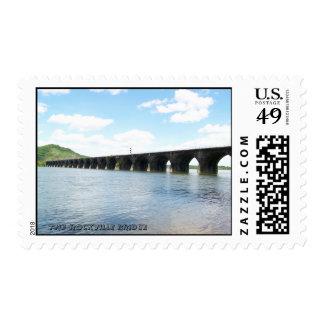 Rockville Stone Masonry Arch Railway Bridge Postage Stamp