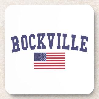 Rockville US Flag Coaster