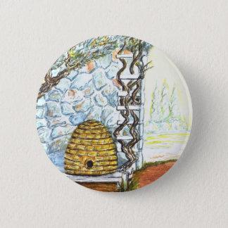 rockwall crop pinback button