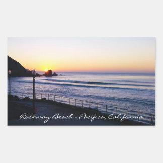Rockway Beach Pacifica California  Sticker