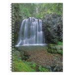 Rockwell Falls in the Two Medicine Valley of Spiral Notebook