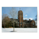 Rockwell in Winter at Grove City College Card