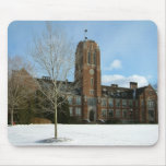 Rockwell in Winter at Grove City College Mouse Pad