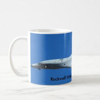 Rockwell International B-1B Lancer Coffee Mugs