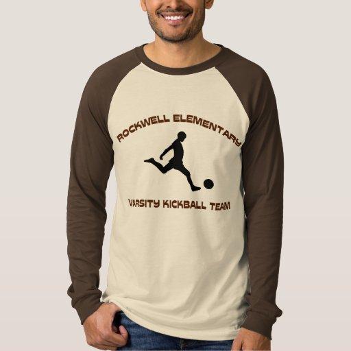 Rockwell KickBall Kickin él Playera