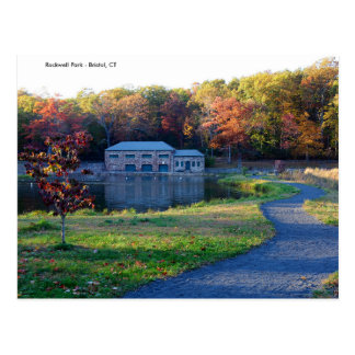 Rockwell Park - Bristol CT Autumn Post Card