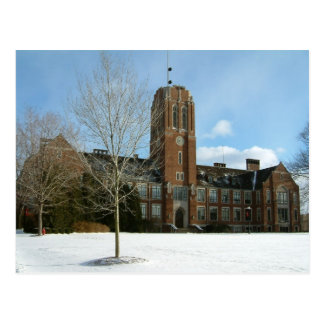 Rockwiell in Winter Postcard
