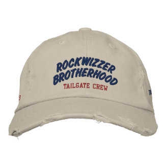 ROCKWIZZER BROTHERHOOD Tailgate Crew hat 1